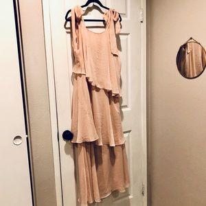 Blush Tiered Dress